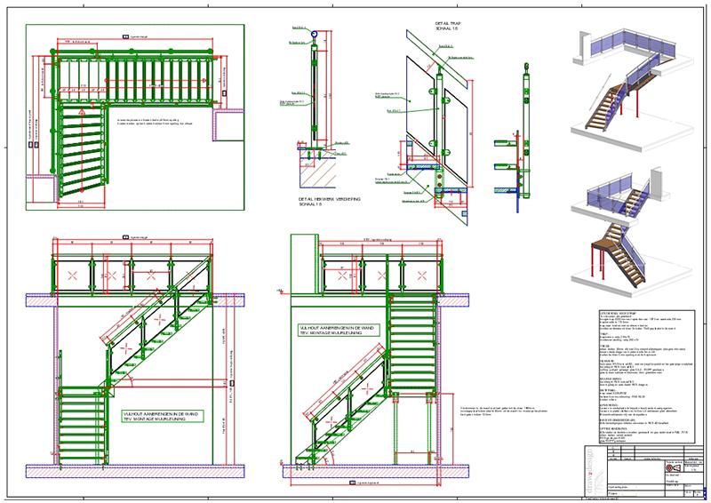 Werkwijze draw2design - Trap ontwerpen ...